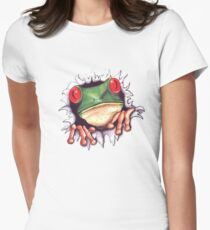 FROGGIE Women's Fitted T-Shirt