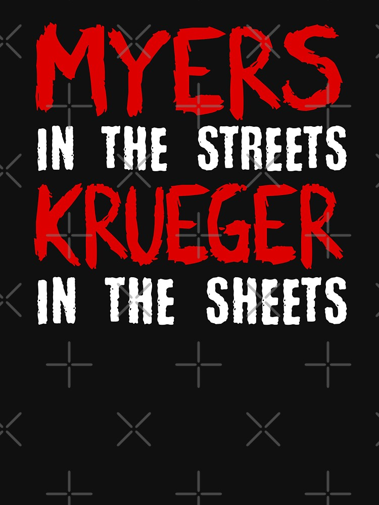 Myers in the streets - Krueger in the sheets by ninthstreet