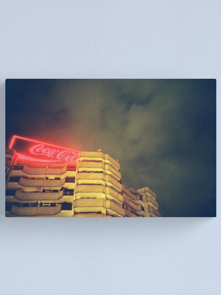 Alternate view of Coke in Berlin Canvas Print