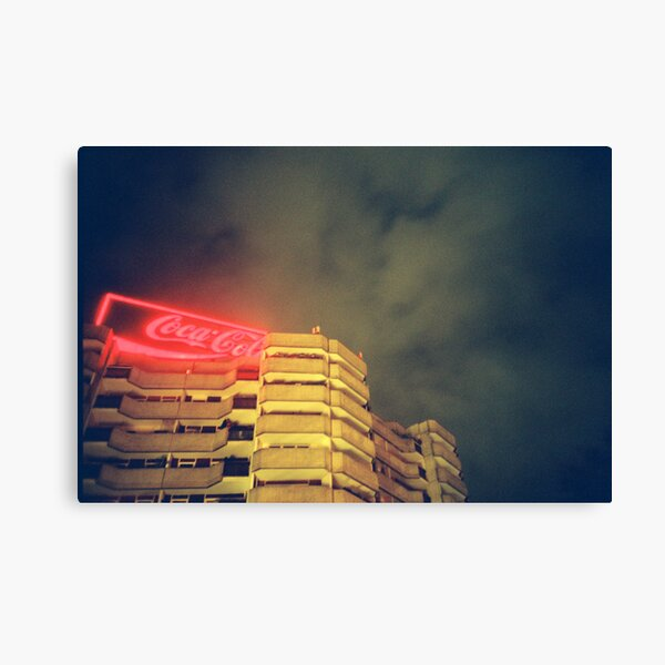 Coke in Berlin Canvas Print
