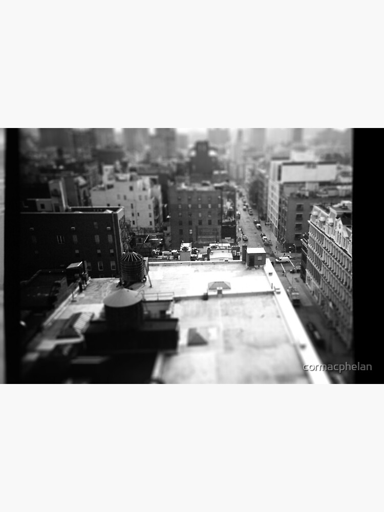Balcony Tilt-Shift by cormacphelan