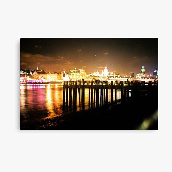 Southbank By Night Canvas Print