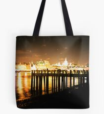 Southbank By Night Tote Bag