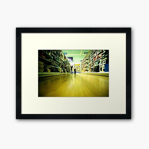 Tesco at 5 a.m. Framed Art Print