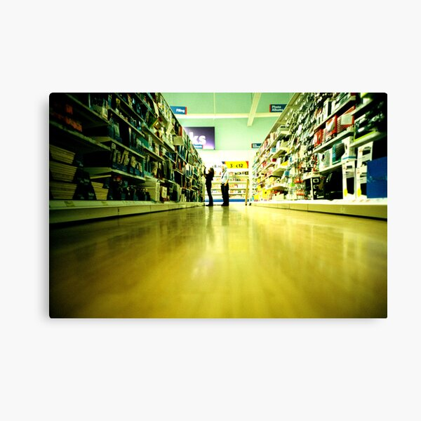 Tesco at 5 a.m. Canvas Print