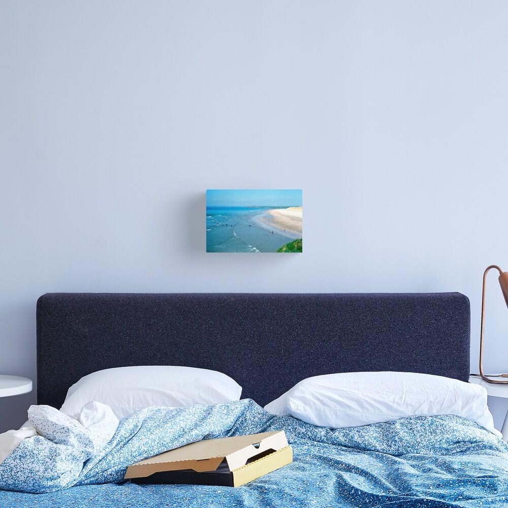 Tullan Strand Tilt-Shift Canvas Print