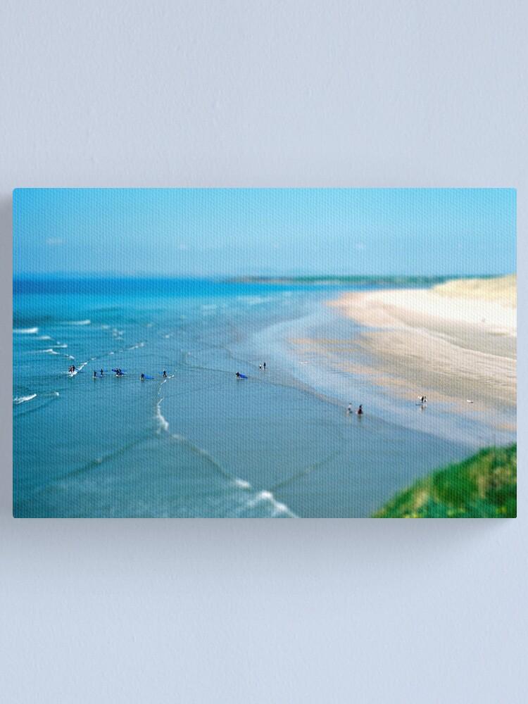 Alternate view of Tullan Strand Tilt-Shift Canvas Print