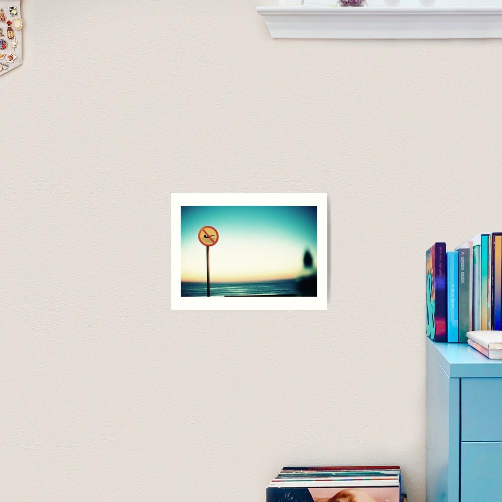 Strandhill Sunset Art Print