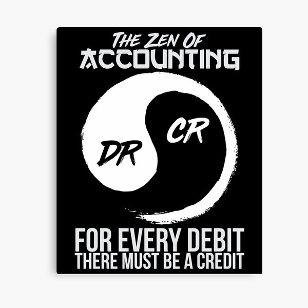 The Zen Of Accounting Canvas Print