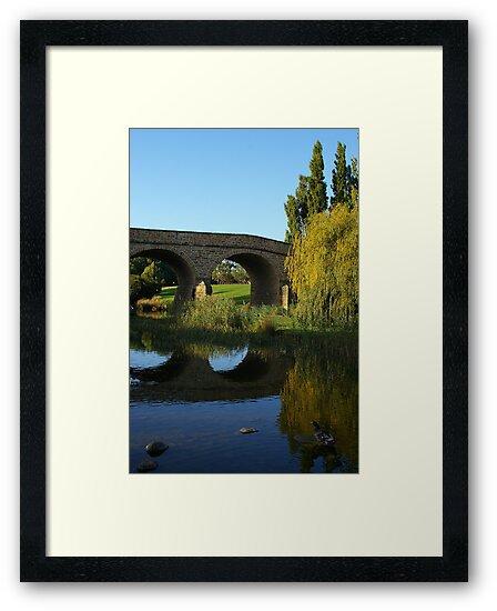 Richmond Bridge - Richmond Tasmania by ShutterBuggz