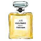 Yellow parfum bottle by Skinny Love by Gabriel