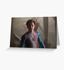 Trans Peter Parker Greeting Card