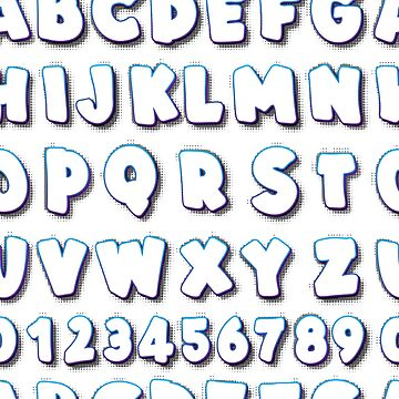 Alphabet Creative pattern by zao4nik