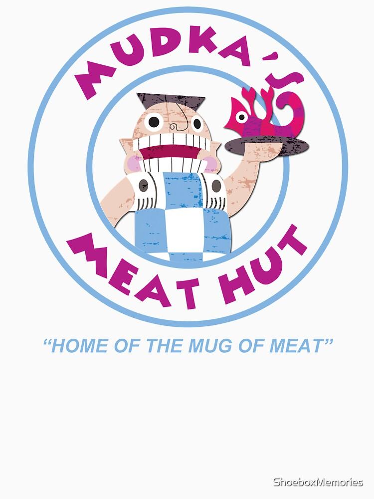 Mudka's Meat Hut Logo by ShoeboxMemories