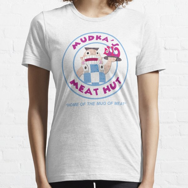 Mudka's Meat Hut Logo Essential T-Shirt
