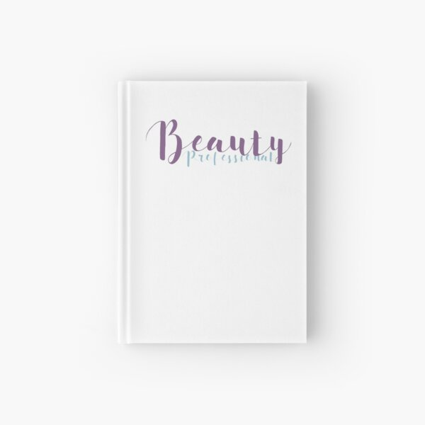 Beauty Professional - Lilac and Light Blue Hardcover Journal