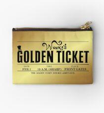 Wonka's Golden Ticket Studio Pouch