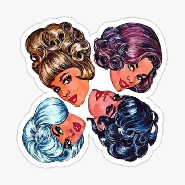 Wigging Out Sticker
