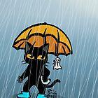 Rainy day by BATKEI