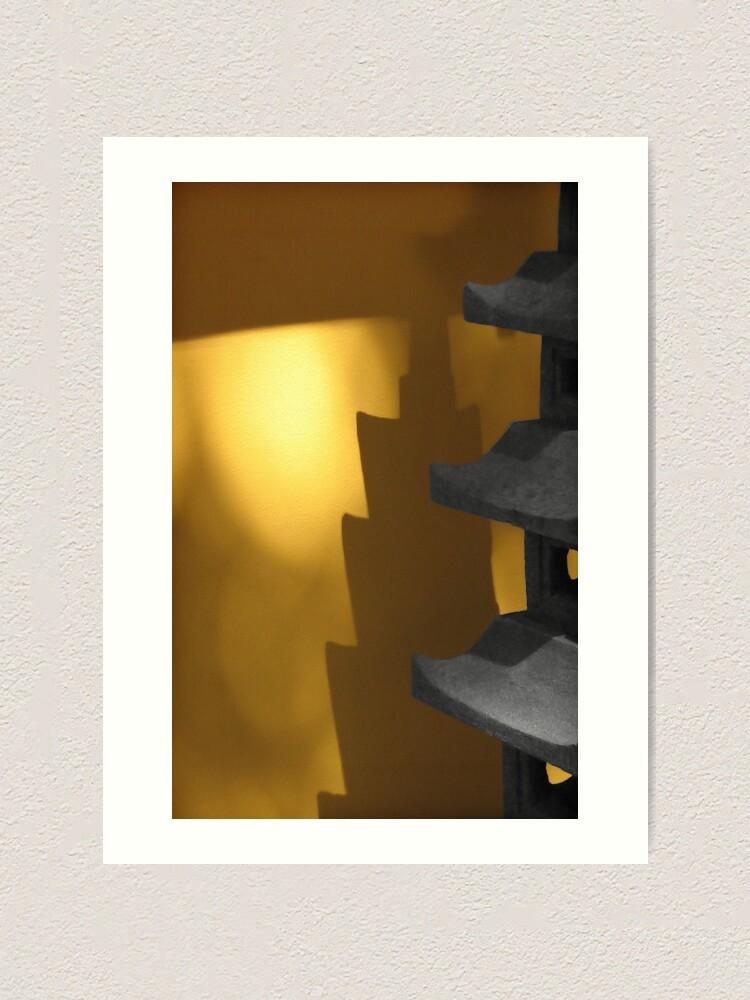 Alternate view of Shadow glow Art Print
