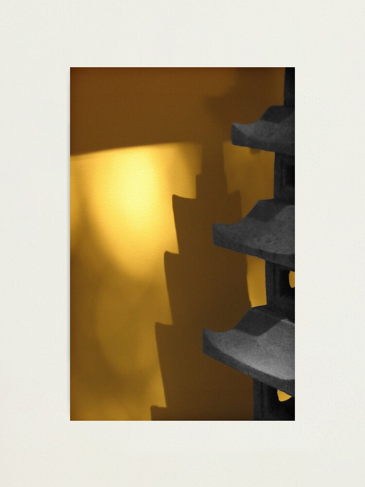 Alternate view of Shadow glow Photographic Print