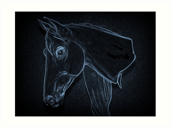 Equine Outline by Bill Lighterness