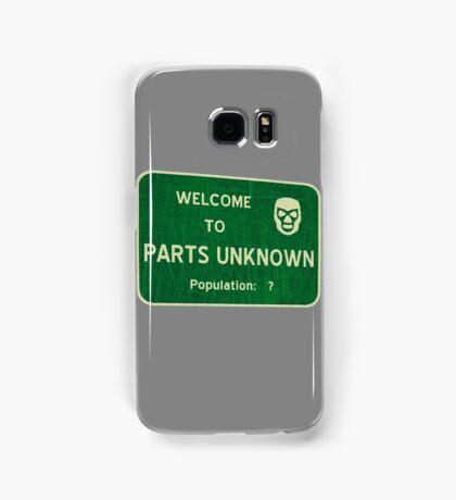 Welcome To Parts Unknown Samsung Galaxy Case/Skin