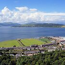 Gourock Greenock and the River Clyde by jackitec