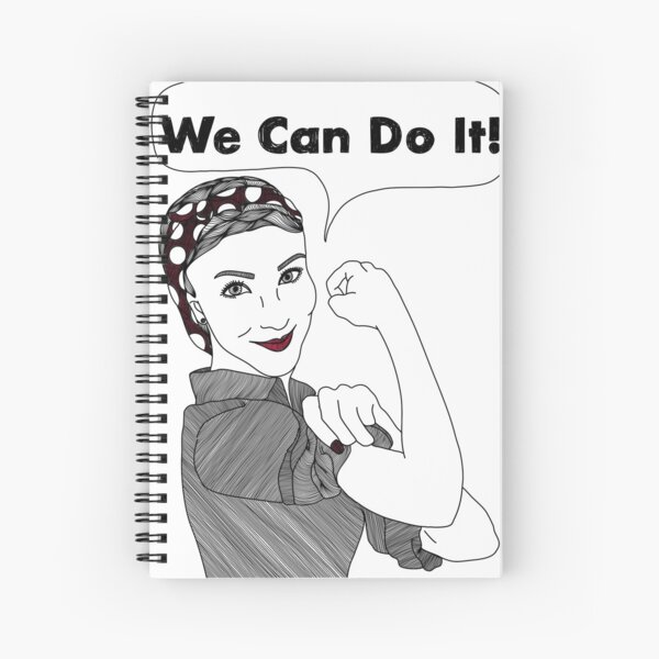 We Can Do It!  |  Women Power Spiral Notebook