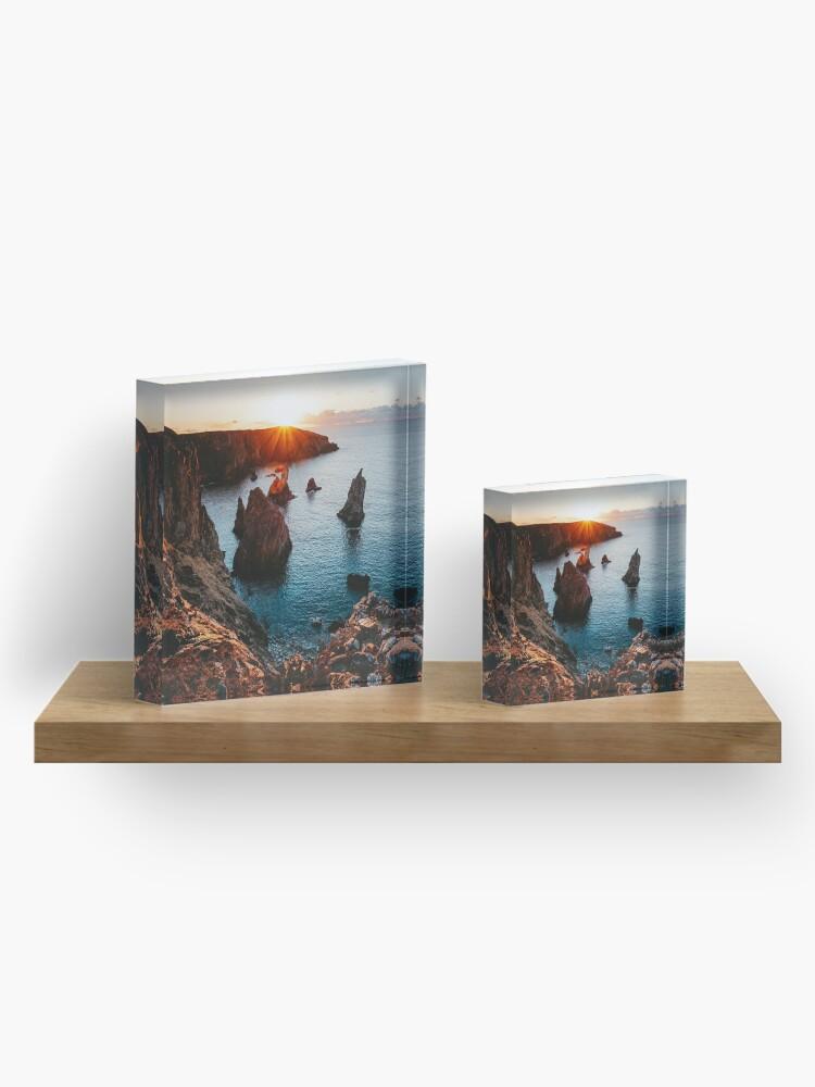 Bloc acrylique ''The Stack': autre vue