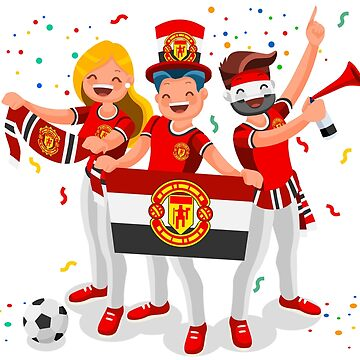 Manchester United Football Club Fans by aurielaki