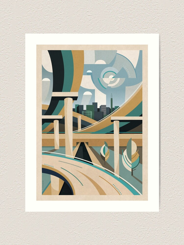 Alternate view of Spaghetti Junction Art Print