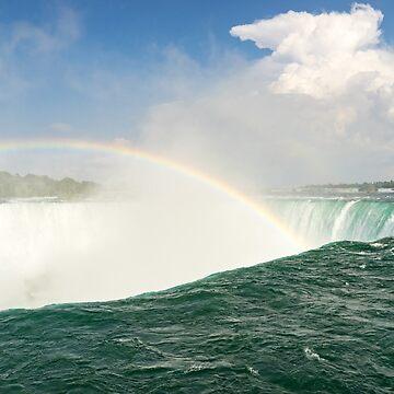 Born in the Abyss - Niagara Falls Rainbow by GeorgiaM