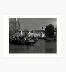 Leiden 2005 Art Print