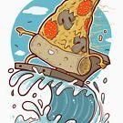 «PIZZA SURFING» de Fernando Sala