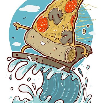 PIZZA SURFING by nando-ss