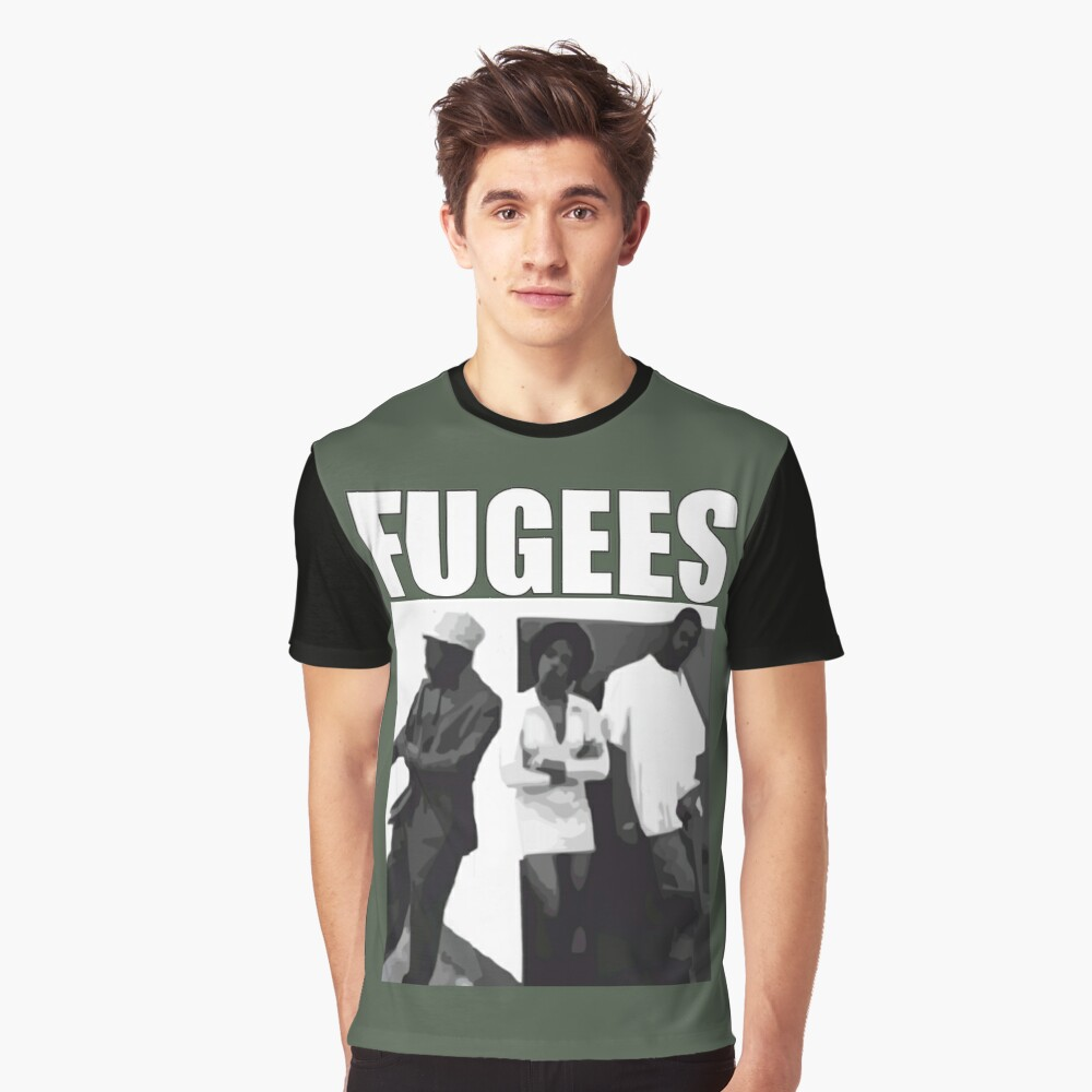 ReFugees Graphic T-Shirt Front