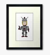 Abed's Uncontrollable Christmas - Britta Framed Print