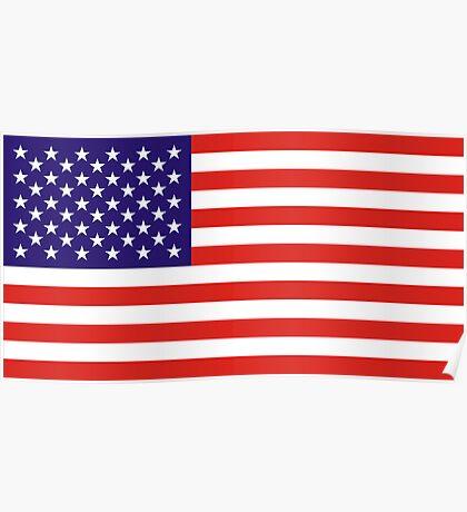USA, national id Poster