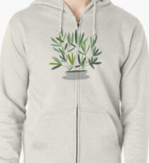 Eucalyptus Zipped Hoodie