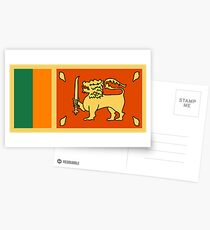 Sri Lanka, national id Postcards