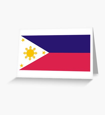 Philippines, national id Greeting Card