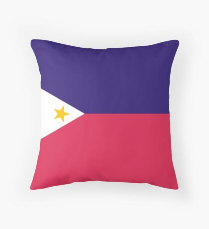 Philippines, national id Throw Pillow