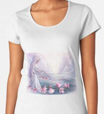 """""""He who lives in harmony with himself lives in harmony with the universe"""". Women's Premium T-Shirt"""