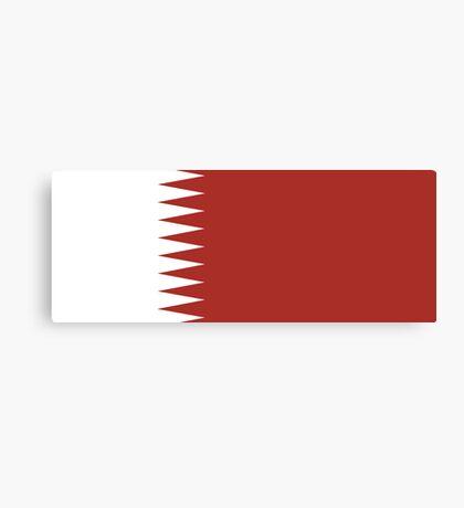 Qatar, national id Canvas Print