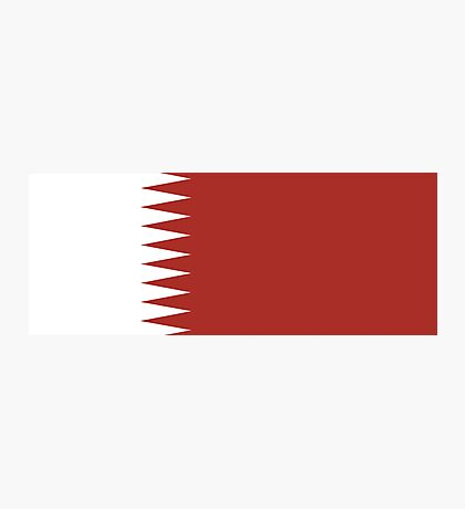 Qatar, national id Photographic Print