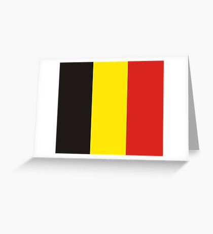 Belgium, national id Greeting Card