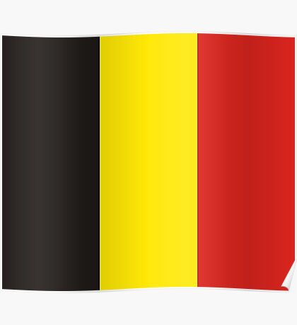 Belgium, national id Poster