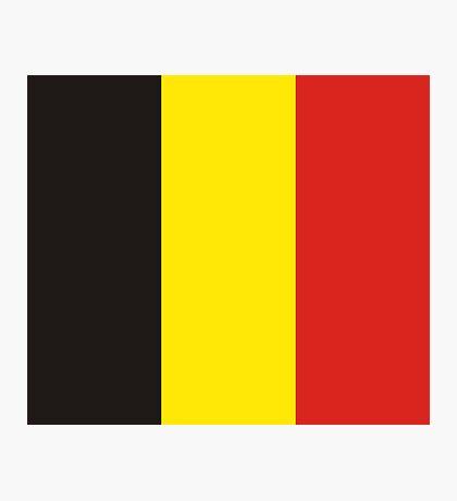 Belgium, national id Photographic Print