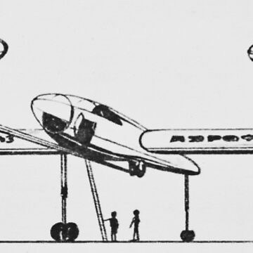 future retro air travel  by garethstamp